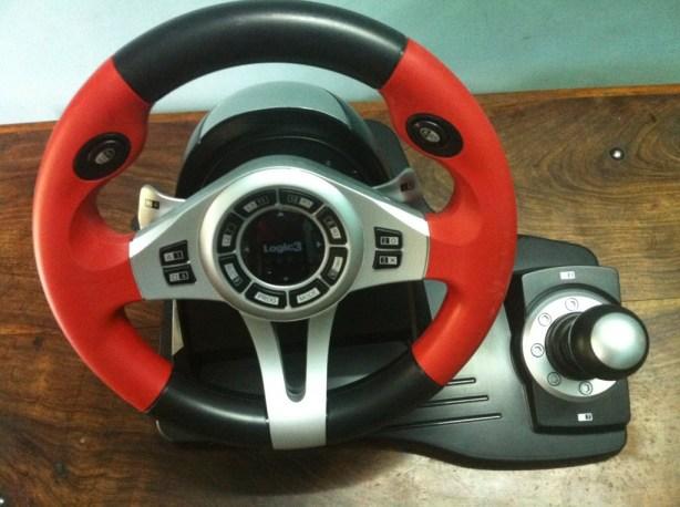 Logic3 TopDrive GT Steering Wheel