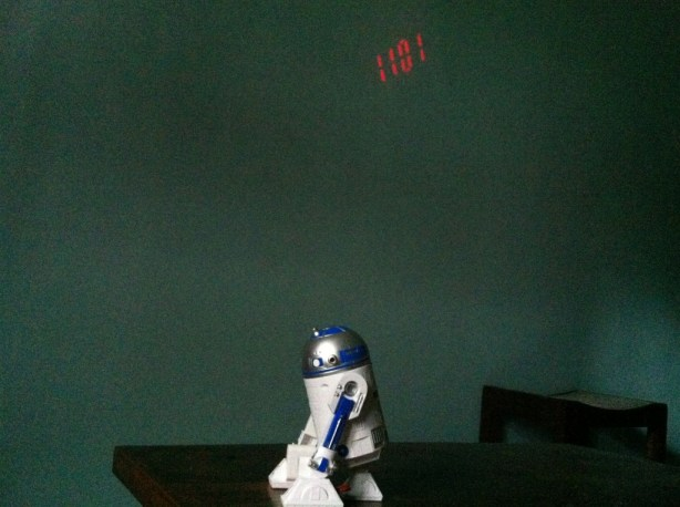 R2D2 Projection Alarm Clock (4)