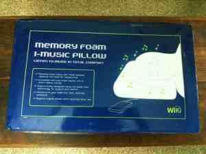 iMusic Memory Foam Pillow