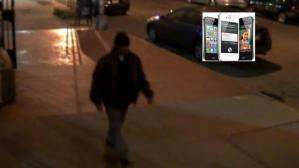 iPhone robber
