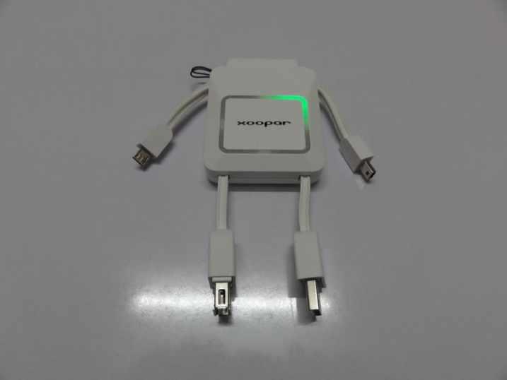 Xoopar Robo 2000 mAh External Battery Bank (1)