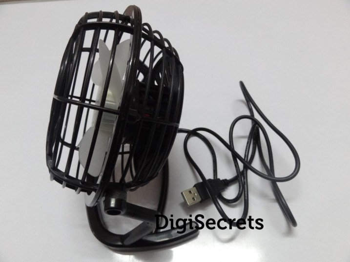 Portable USB Mini Desk Fan - Review (1)