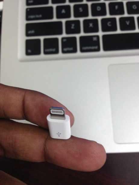 Apple Micro USB to Lightning Adapter (1)