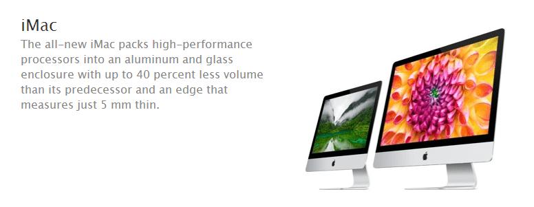 iMac Haswell Processor