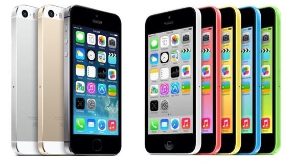 Apple iPhone 5S iPhone 5C