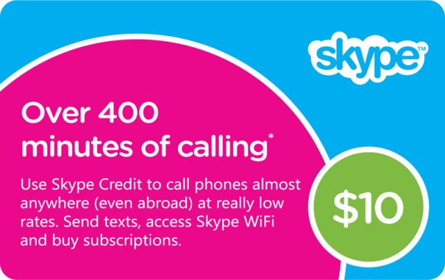 Free Skype Credit Voucher