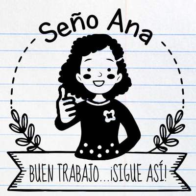 Sello maestra Ana
