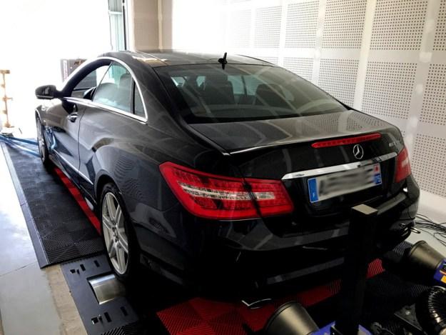 Reprogrammation moteur Mercedes E350cdi - Digiservices Normandie