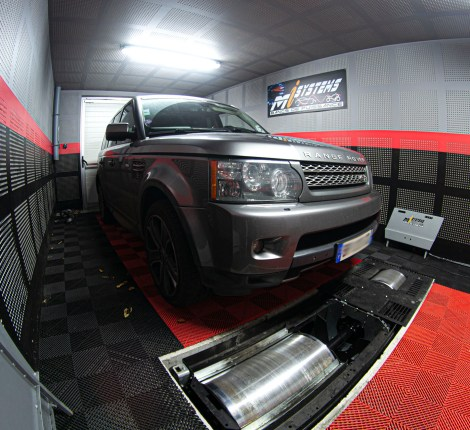 Reprogrammation Ethanol Range Rover Supercharged