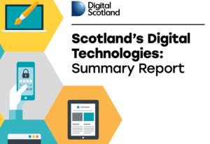 Scotland's Digital Technologies Report
