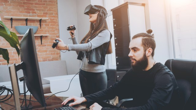 Developers of immersive experiences