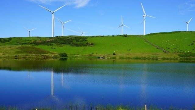 Scottish Wind Power Infrastructure