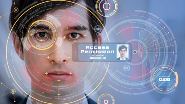 Biometrics facial recognition technology