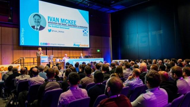 Ivan McKee MSP at DIGIT Expo 2019