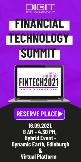 Join Fintech 2021 - 16th September 2021 - Hybrid Event - Dynamic Earth, Edinburgh & Virtual Platform