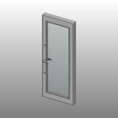 formZ 3D 建築 扉 door 勝手口ドア 0821