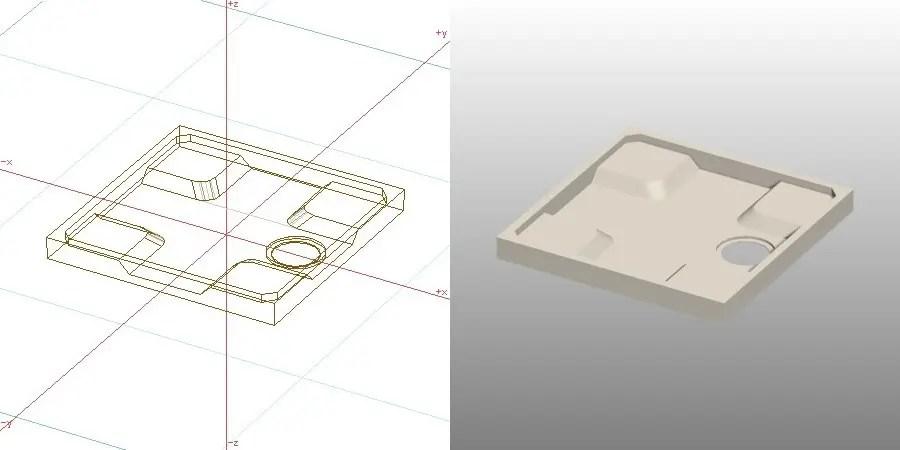 formZ 3D インテリア 洗面脱衣室 洗濯パン laundry