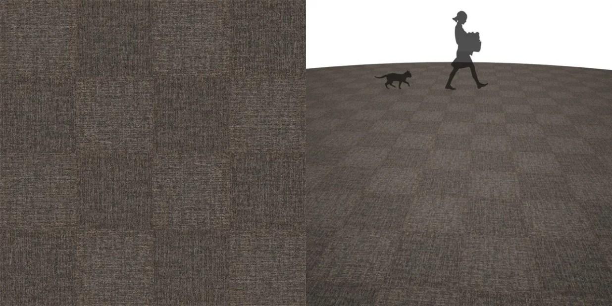 タイルカーペットのシームレステクスチャー丨床材 市松張り丨無料 商用可能 フリー素材 フリーデータ丨サンゲツ NT845