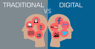 Digital Marketing Vs. Traditional Marketing