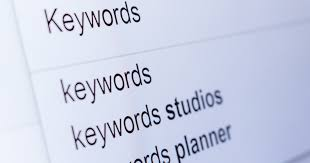 Digital Marketing & Keywords