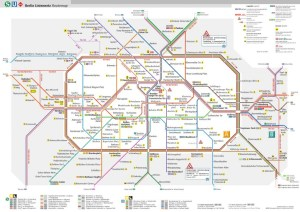 public transport map berlin