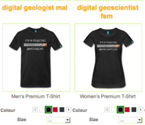 T-shirt, spreadshirt, digital-geography