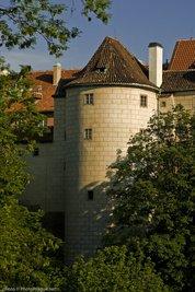 Tour poudrière du château de Prague