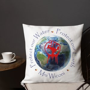 Protect Our Water Premium Pillow