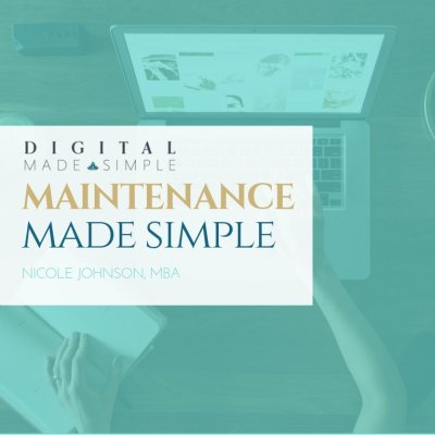 Maintenance Made Simple™, Digital Made Simple, LLC,