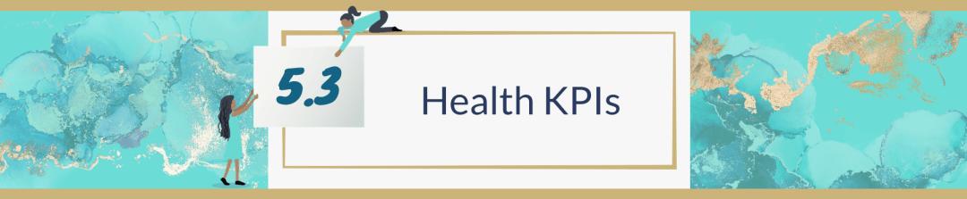 5.3 Health KPIs