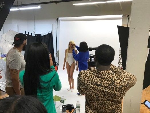 Product and model shoot.
