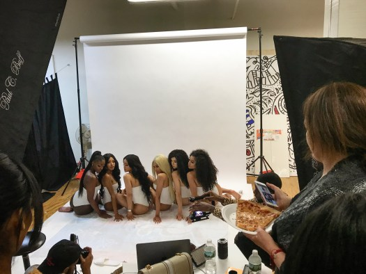 Promotional shoot.