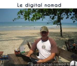 Un digital nomad au boulot !