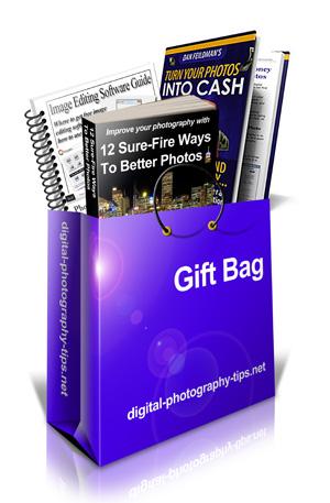 The Complete Digital SLR Guide - BONUS! gift bag