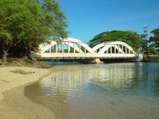 Photograph of Famous Anahulu River Bridge, Haleiwa, Oahu ...