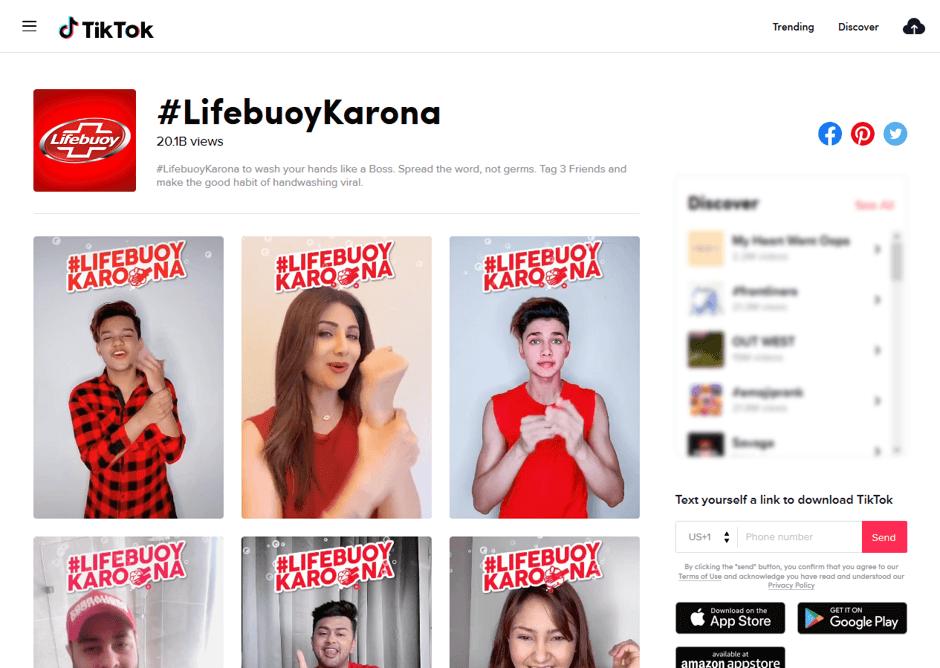Digital 38 Digital marketing agency x Chiến dịch TikTok Lifebuoy