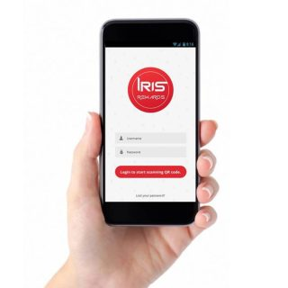 Download the IRIS Rewards app through Google Play or App Store.
