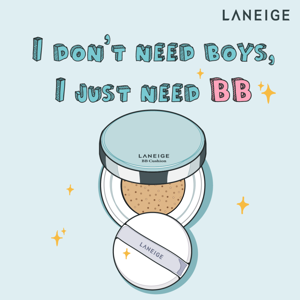 Illustrations for Laneige BB Cushion - Creative Services