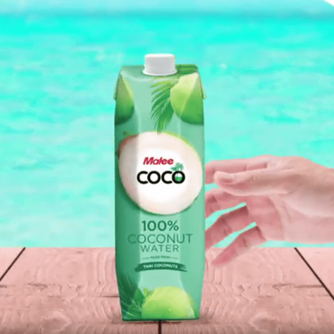 Motion Graphic - Malee Thailand Coconut Water