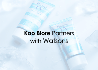 Kao Biore partners with Watsons to run campaign - D38 Ecommerce Agency