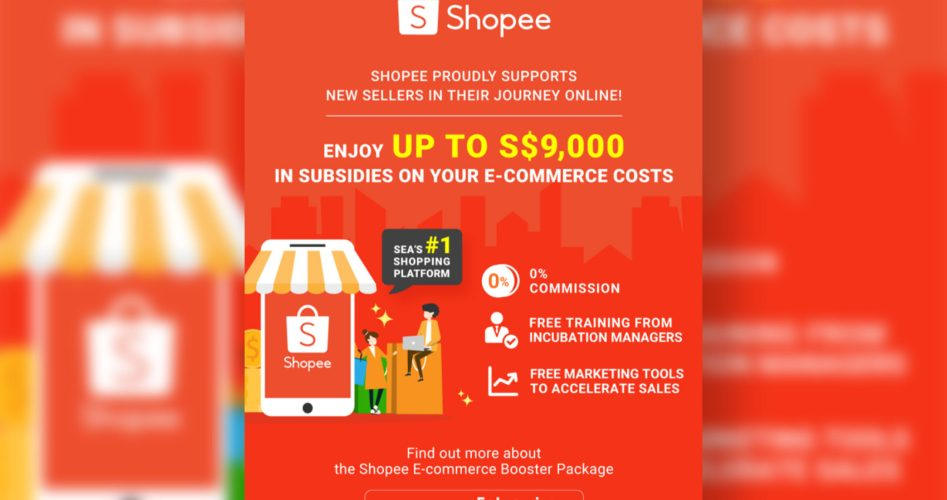 Shopee Offers E-commerce Booster Package to New Sellers FT IMG