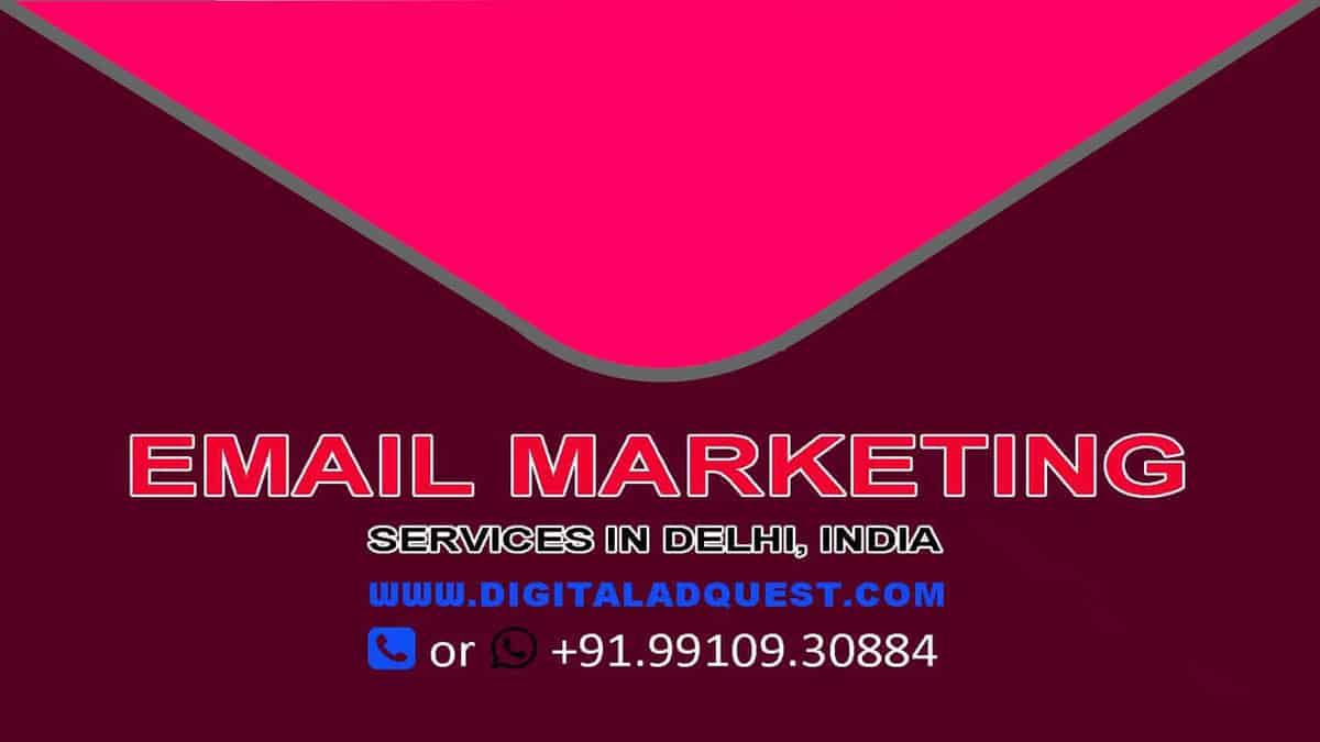 Email Marketing Pricing in Delhi India
