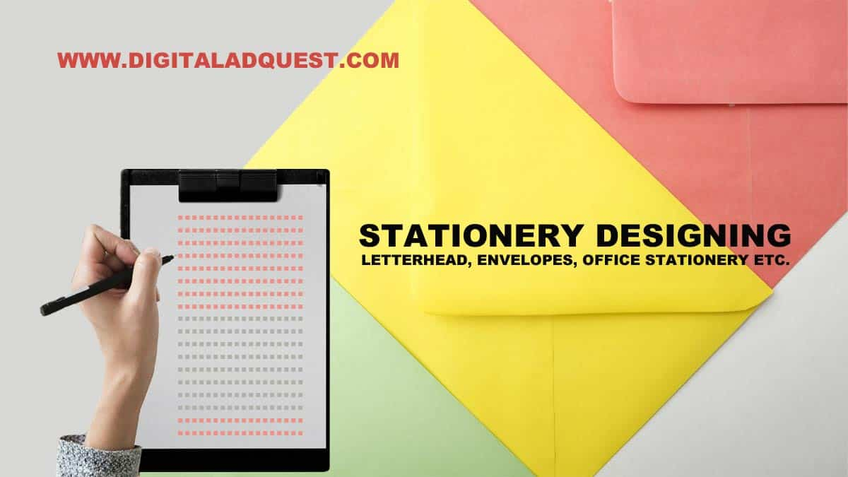 Stationery Designing Services In Delhi, India