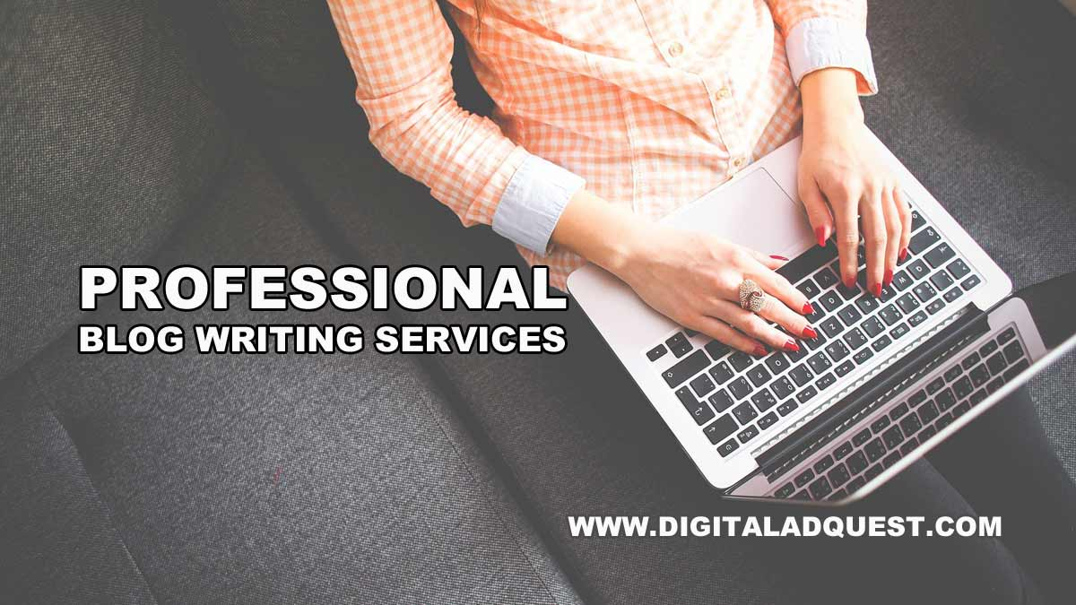 Blog Writing Services in Delhi, India