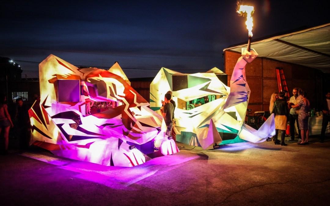 Galactic Jungle Art Cars