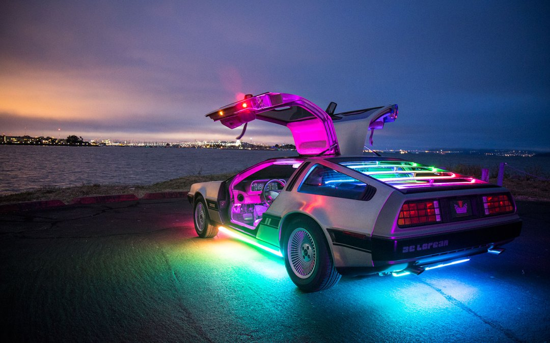 Gumball 3000 & The DMC DeLorean