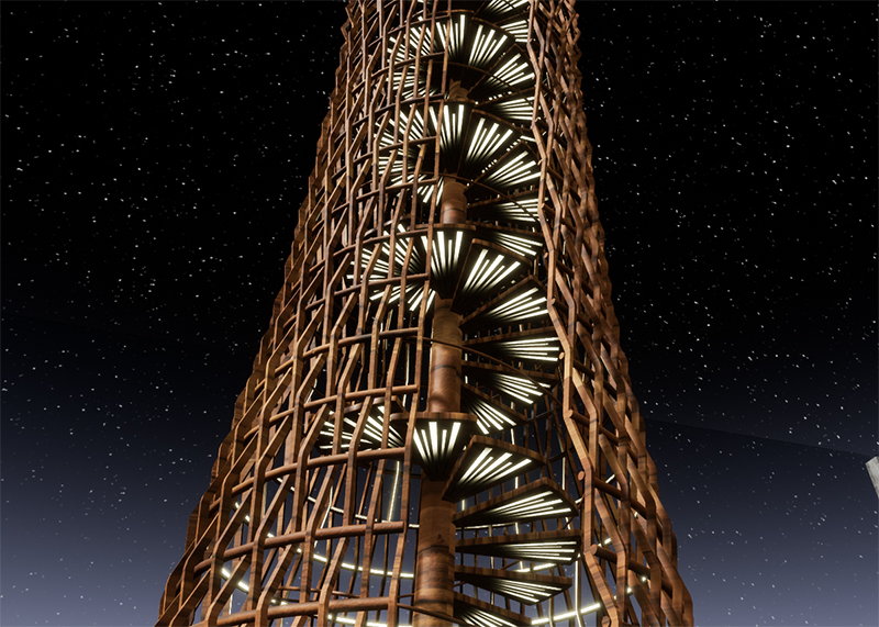 Moskito Island: Spiral Staircase