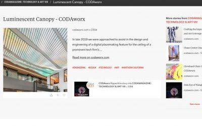 Digital Ambiance Featured in CODAMagazine!