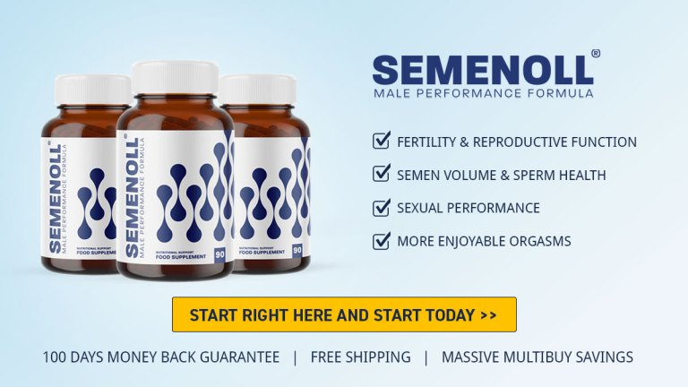 Buy Semenoll Online from Official Website - Avoid Amazon, GNC or Walmart!