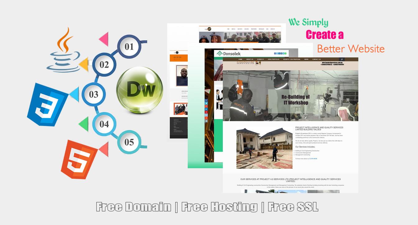 Web Design Services in Lagos Nigeria